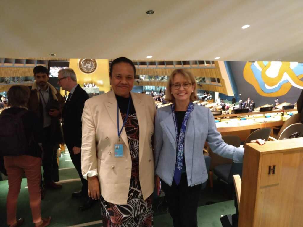 SPC and OECD meet at the UNSC50